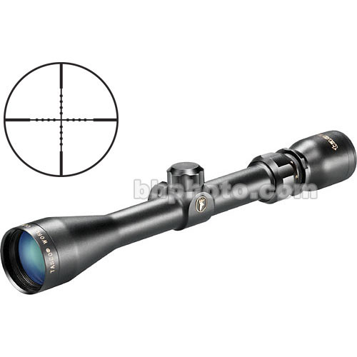 Tasco 3-9x40 World Class Riflescope w/ Mil Dot - Black