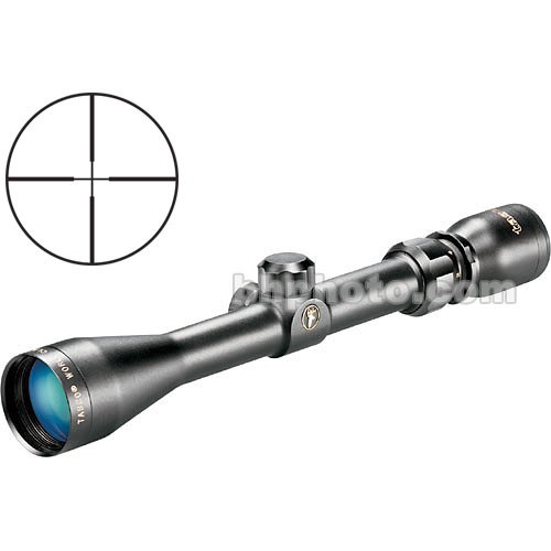 Tasco 3-9x40 World Class Riflescope w/ 30/30 - Black
