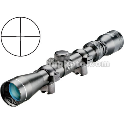 Tasco 3-9x32 .22 Riflescope (Clamshell) - Black