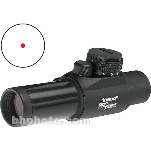 Tasco 1x25 ProPoint Riflescope - Black