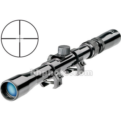 Tasco 3-7x20 Rimfire Riflescope - Black