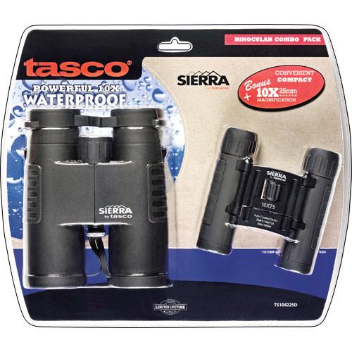Tasco 10x42/10x25 Roof Prism Combo