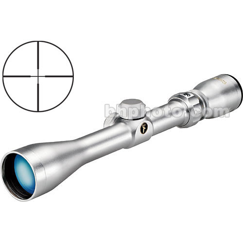 Tasco 3-9x40 World Class Riflescope w/ 30/30 - Silver