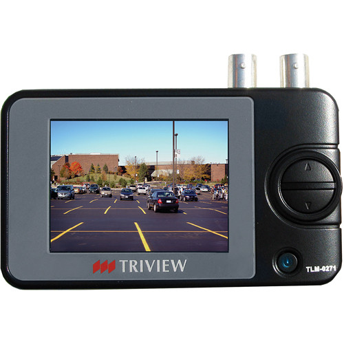 Tatung USA TLM-0271 TRIVIEW Sunlight-Readable Hand-Held Test Monitor