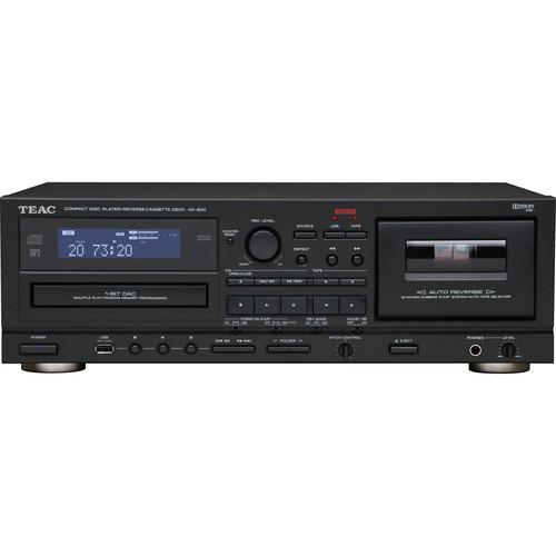 Teac AD-800 CD Player & Auto Reverse Cassette Deck w/ USB
