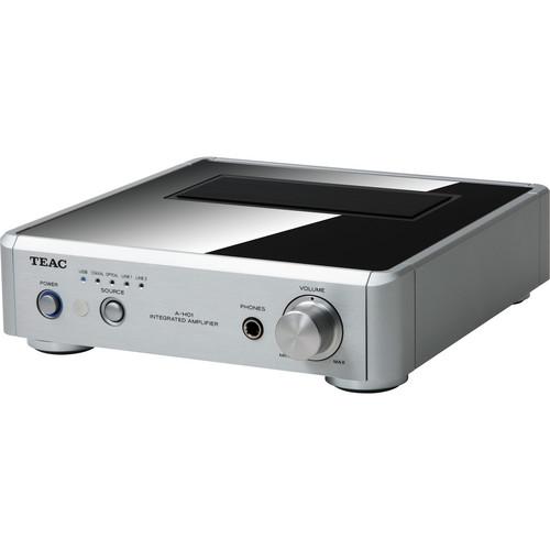 Teac AH01-S Stereo Pre-Main Amplifier w/ D/A Converter (Silver)