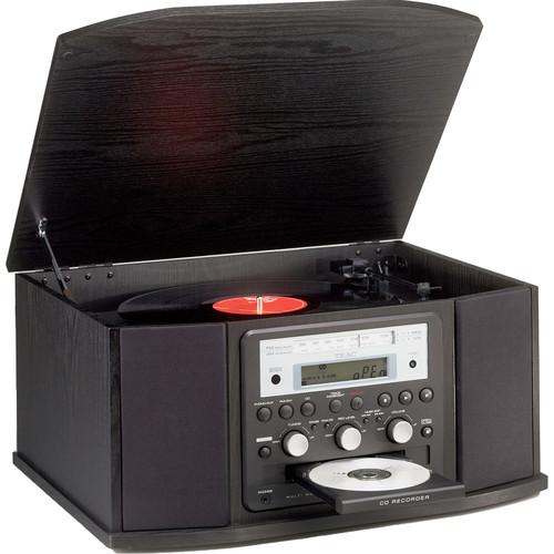 Teac GF-350 Turntable, CD Player/Recorder, Radio