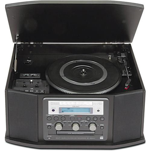 Teac GF-450K7 Turntable, Cassette, CD Recorder with Radio