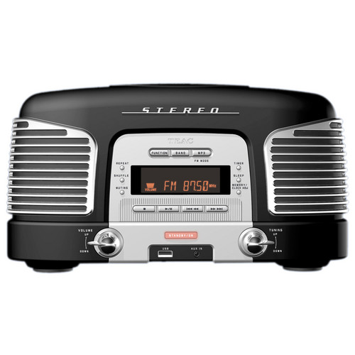 Teac SL-D920B Nostalgic CD-Radio (Black)
