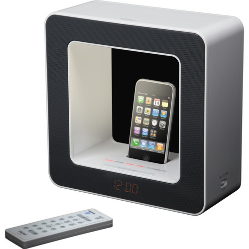 Teac SR-LUXi Table-Top Audio Lamp with iPod / iPhone Dock (Black)