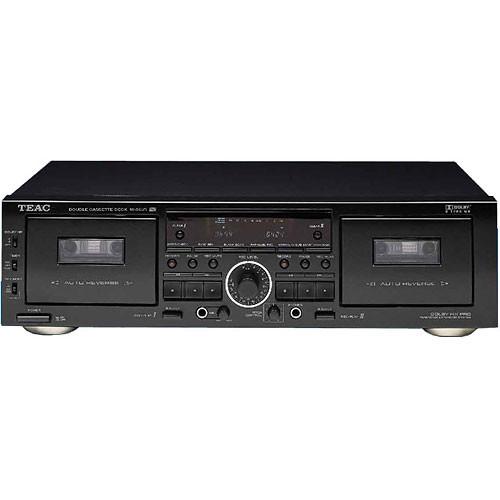 Teac W-865R Double Auto-Reverse Cassette Deck