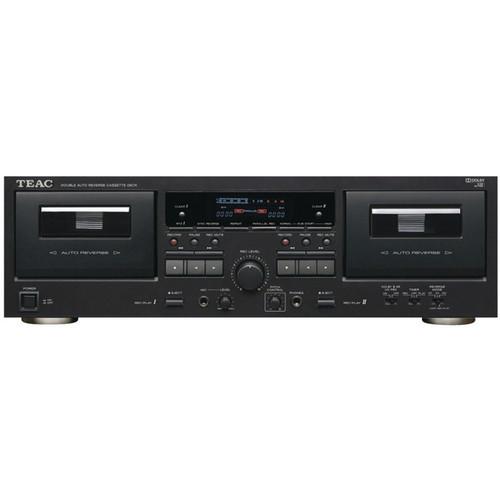 Teac W-890R-B Dual Auto-Reverse Cassette Deck