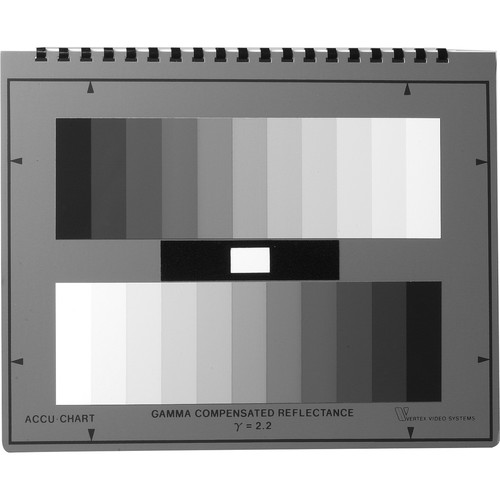 TecNec AC-GSG11 11-Step Grayscale Test Chart