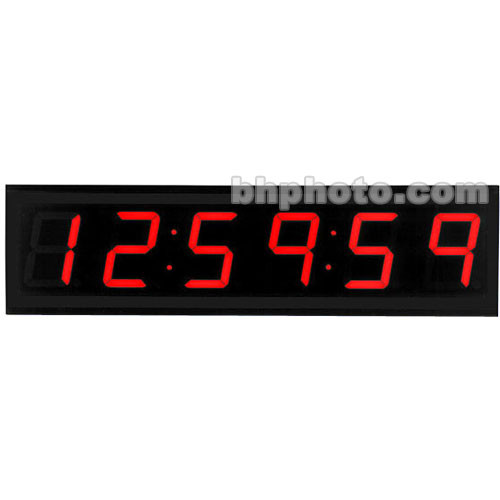 TecNec ES-942 Stand Alone Console Clock - 6 Digit, 12 Hour