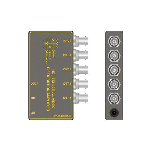 TecNec MSC-HDDA4 Matrix Switch HD-SDI 1x4 Distribution Amplifier