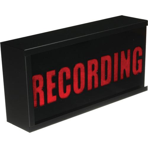 TecNec Industry-Standard Warning Light (Recording, 110 VAC)
