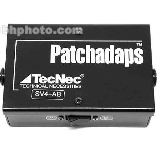 TecNec SV-4AB 2x1 Passive Switcher