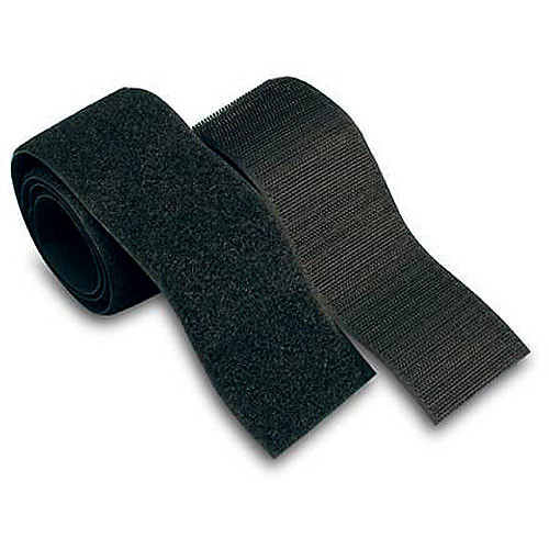 Velcro VEL-90209 Set of 4 Touch-fastener Strips (Black)