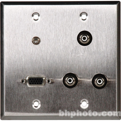 TecNec WPL-2122 2 Gang Wall Plate
