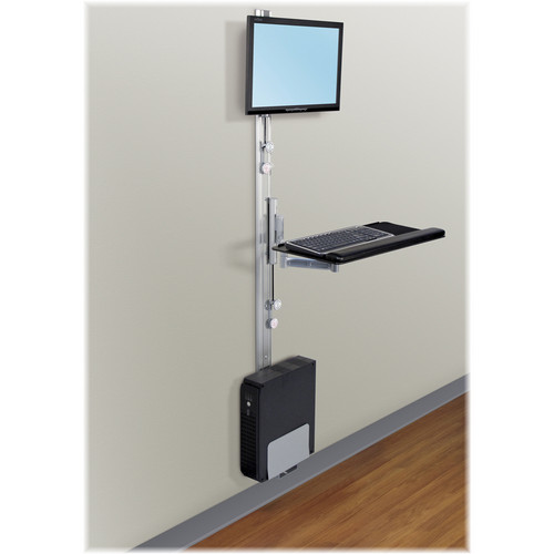 Savage Apollo 2-EC PAC Economy 2 Track Wall Mount Station (Silver)