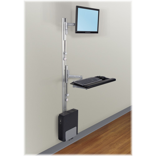 Savage Apollo 2-PR PAC Premium 2 Track Wall Mount Station (Silver)