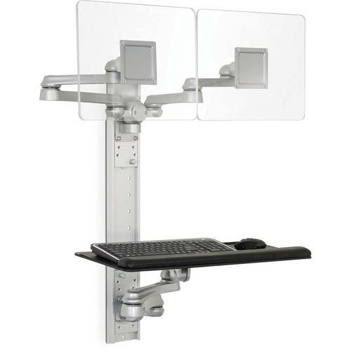 Savage MRWT01-MR2 Double Monitor Wall Mount (Silver)