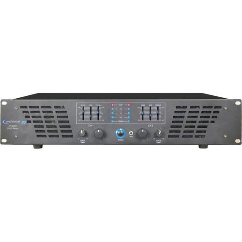Technical Pro AX3000 2-Channel Power Amplifier