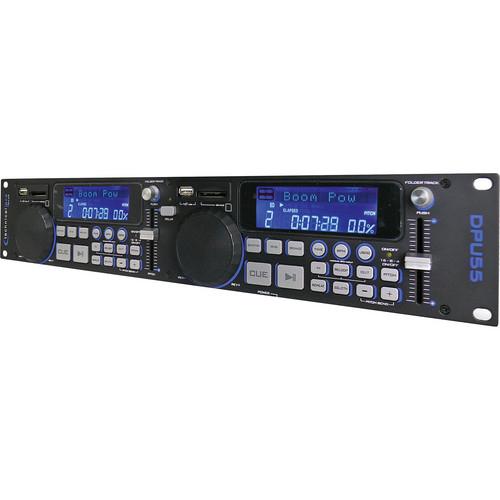 Technical Pro DPU55 Professional Double USB/SD Player