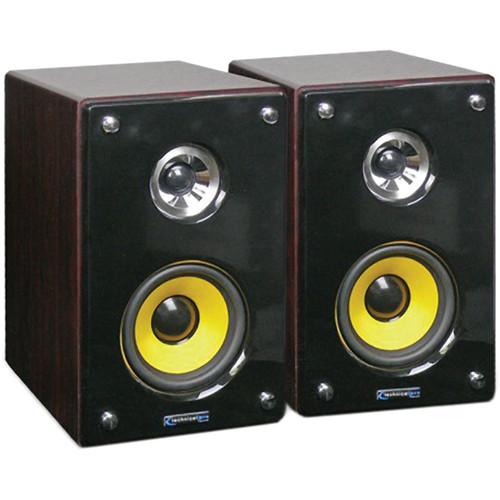 "Technical Pro MRS-4 4"" 25W Nearfield Studio Monitors (Pair)"