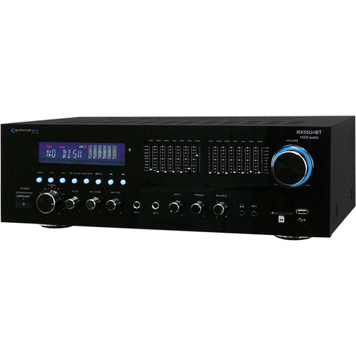 Technical Pro RX55UriBT Professional Receiver with USB and SD Card Inputs
