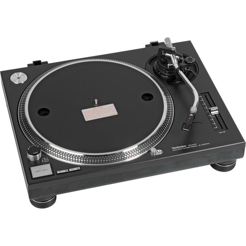 Technics SL-1200MK2PK Professional DJ Turntable (Black)