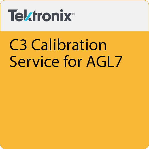 Tektronix C3 Calibration Service for AGL7