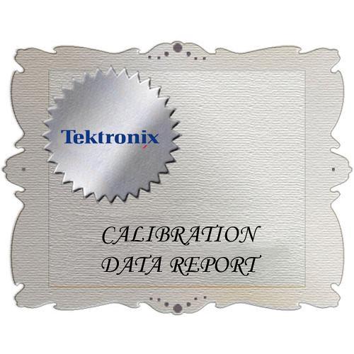 Tektronix D1 Calibration Data Report for ATG7