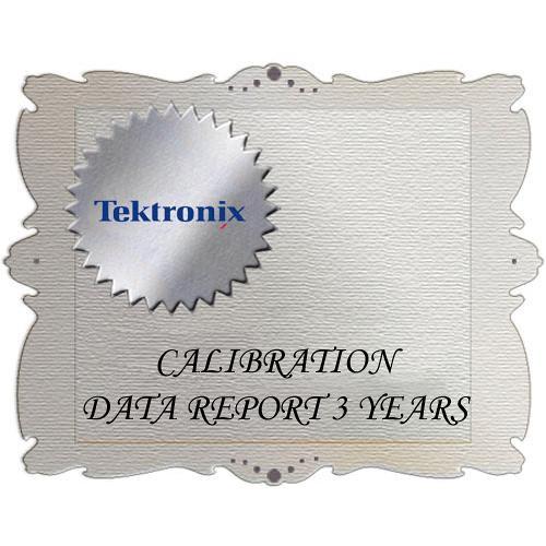 Tektronix D3 Calibration Data Report for ATG7