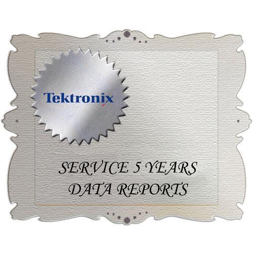 Tektronix D5 Calibration Data Report for ATG7