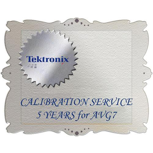 Tektronix C5 Calibration Service for AVG7