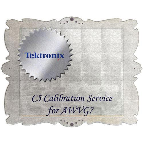 Tektronix C5 Calibration Service for AWVG7 AWVG7 C5