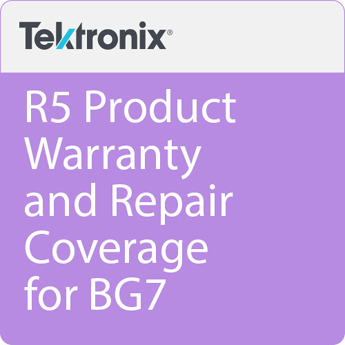 Tektronix R5 Product Warranty and Repair Coverage for BG7