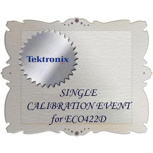Tektronix CA1 Calibration Service for ECO422D