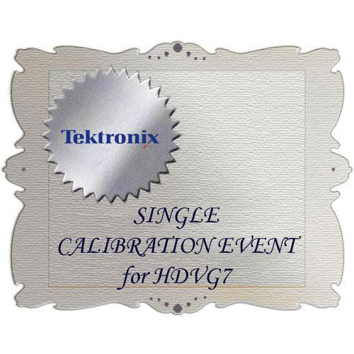 Tektronix CA1 Calibration Service for HDVG7