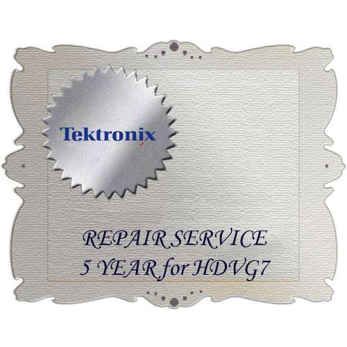 Tektronix R5DW Product Warranty and Repair Coverage for HDVG7