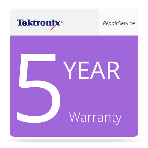Tektronix 5 Year Repair Service for IPM400A Monitor (including warranty)