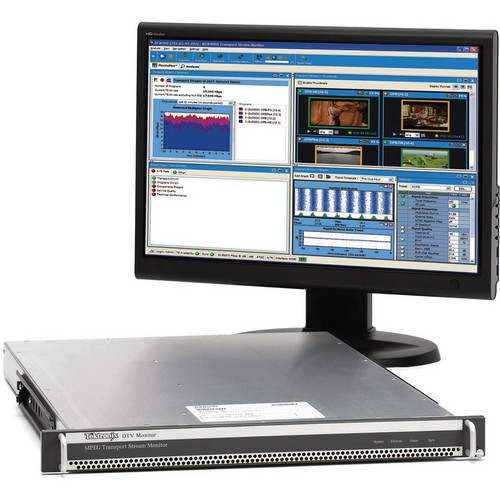 Tektronix RFM300 ATSC/8VSB Digital TV Monitor