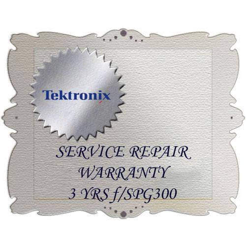 Tektronix R3 Product Warranty and Repair Coverage for SPG300