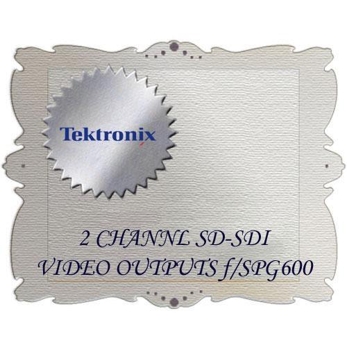 Tektronix Opt. 03 for SPG600