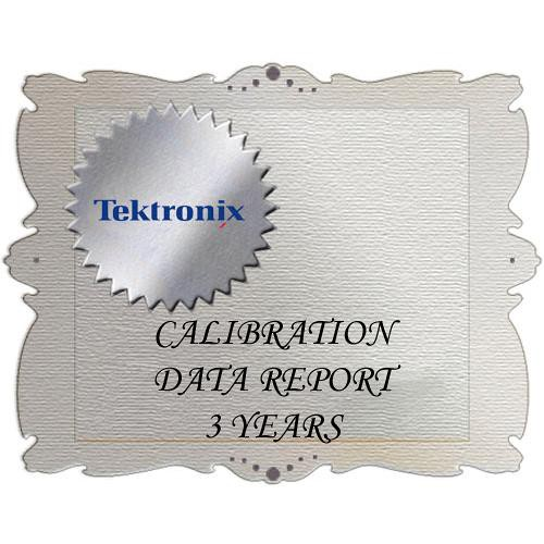 Tektronix D3 Calibration Data Report for SPG600