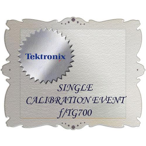 Tektronix CA1 Calibration Service for TG700