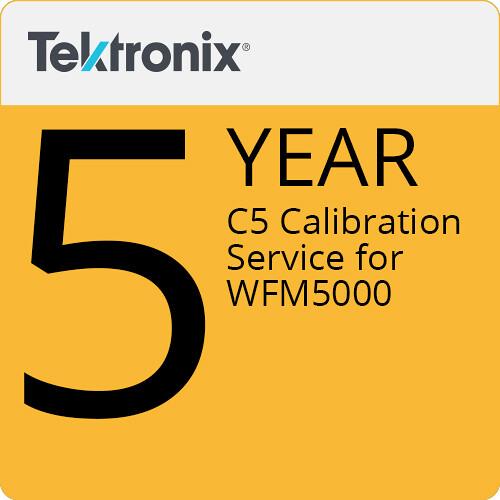 Tektronix C5 Calibration Service for WFM5000
