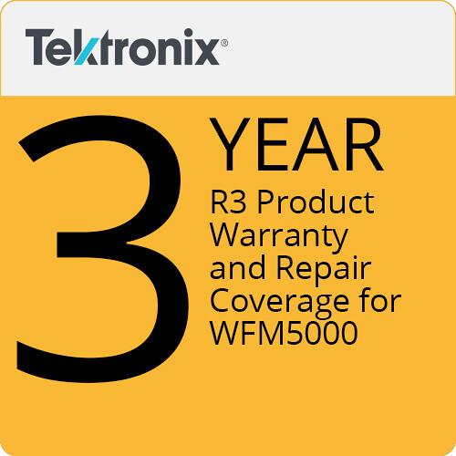 Tektronix R3 Product Warranty and Repair Coverage for WFM5000