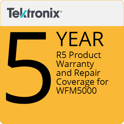 Tektronix R5 Product Warranty and Repair Coverage for WFM5000